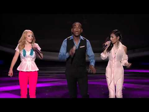 Jessica &amp; Joshua &amp; Hollie: What Doesn't Kill You (Stronger) - Top 7 - AMERICAN IDOL SEASON 11