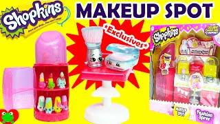 getlinkyoutube.com-Shopkins Makeup Spot Playset Season 3 Fashion Spree