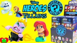 getlinkyoutube.com-Disney Heroes vs Villains Funko Mystery Mini Ursula Ariel Marshmallow