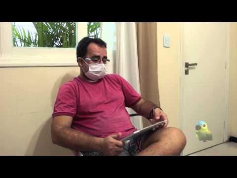 LIVOX - Pessoa com sequelas de Câncer de boca utiliza o Livox