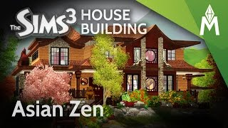 getlinkyoutube.com-The Sims 3 House Building - Asian Zen