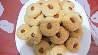 getlinkyoutube.com-حلويات / حلويات سهلة و اقتصادية / غريبة العسل مع طبخ ليلى halawiyat / ghriba au miel