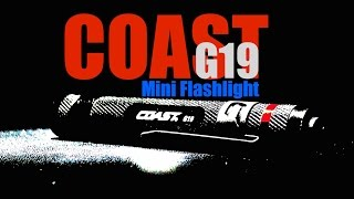 Best Law Enforcement Light: Coast G19 Mini Flashlight