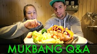 getlinkyoutube.com-VEGAN MUKBANG Q&A