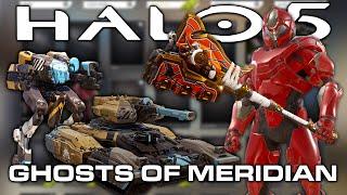 getlinkyoutube.com-Halo 5: Guardians - GHOSTS OF MERIDIAN UPDATE PREVIEW! NEW REQS!