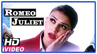 Romeo Juliet Tamil Movie | Scenes | Vamsi appoint Hansika as new CEO of his company| Jayam Ravi width=