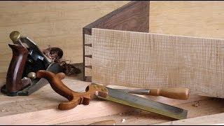 getlinkyoutube.com-How to Make a Half-blind Dovetail Joint