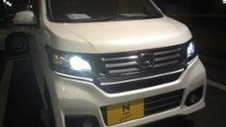 getlinkyoutube.com-最新車 HONDA 新型軽N-WGNカスタム誕生 夜の体感インプレッション!impression