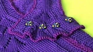 getlinkyoutube.com-Платье для девочки 1,5 - 2 лет