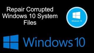 getlinkyoutube.com-How Repair Corrupted Windows 10 System Files