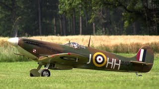 "getlinkyoutube.com-Rc Spitfire ""Clipped Wings"" [cool sound]"
