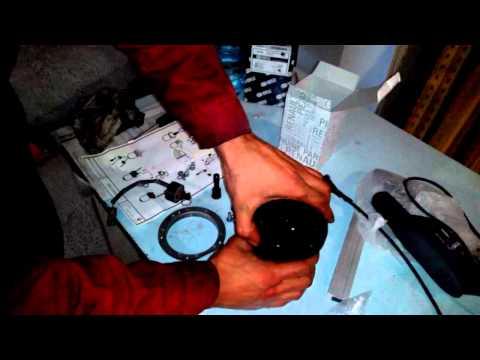 Замена топливного фильтра Logan II 5 DCI дизельный двигатель