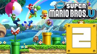 getlinkyoutube.com-New Super Mario Bros Wii U! Capitulo 2!