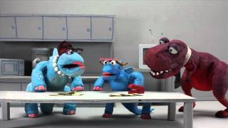 getlinkyoutube.com-Dinosaur Office: Bring Your Child to Work Day