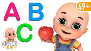 Fruits Name  - Kids Learning - Learn English words ( spelling) for kids by Jugnu Kids width=