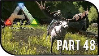 "getlinkyoutube.com-ARK: Survival Evolved Gameplay Part 48 - ""MEGALOCEROS RIDING + ALPHA TIME!"" (Season 2)"