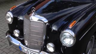 getlinkyoutube.com-Mercedes Benz 220 S Ponton