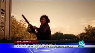 Regresa Halloween Horror Nights a Universal Orlando