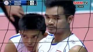Thailand - Indonesia [Set 2] Qualifier Men's World 28-06-2013
