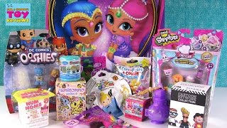 getlinkyoutube.com-Shimmer & Shine Genie Surprise Backpack | Num Noms Shopkins Disney Toy Opening | PSToyReviews