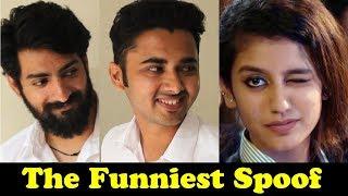 Priya Prakash Varrier - Oru Adaar Love Song & Teaser Viral Video Spoof   Dekhte Rahoo