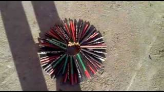getlinkyoutube.com-80 petarde cu 5 focuri (80 firecrackers to 5 shots)