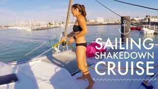 getlinkyoutube.com-SAILING FROM FRANCE TO SPAIN: SHAKEDOWN CRUISE - Chase the Story 3