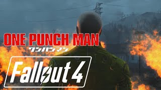 getlinkyoutube.com-Fallout 4: One Punch Man The Hero!