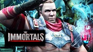 getlinkyoutube.com-WWE Immortals - Dashing Rogue JOHN CENA Super Move Attacks [Android/iPad]