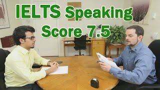getlinkyoutube.com-IELTS Speaking Example Arabic Learner Score 7.5