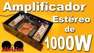 getlinkyoutube.com-Amplificador zener estéreo de 1000 watts