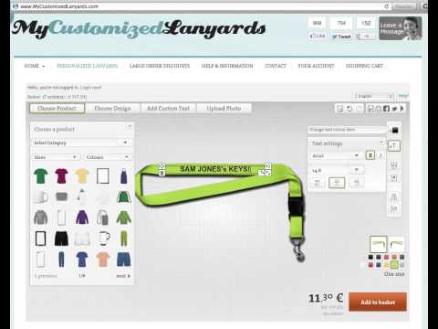 Custom Lanyards - Make YOUR Own Custom Lanyards Online!
