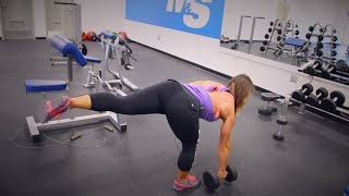 getlinkyoutube.com-Women's Weight Training: 3 Exercises For Building Sexy Glutes