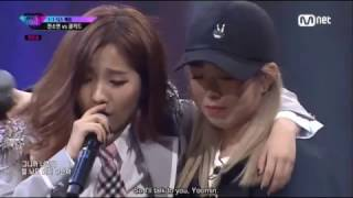 (ENG SUB) [Unpretty Rapstar 3 Ep. 4] (G)I-DLE Jeon Soyeon vs Coolkid @1v1 Diss Battle width=