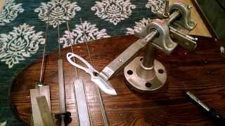 getlinkyoutube.com-Homemade Ultimate knife sharpener!