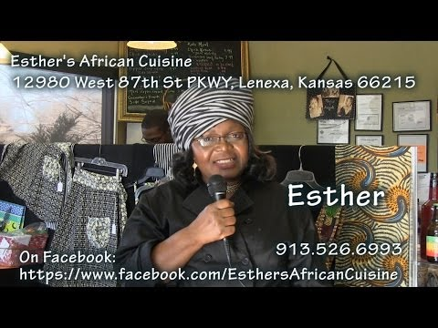 Esther's African Cuisine Cash Mob