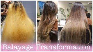 Amazing Balayage Hair Transformation [ NC+ Salon ]   ElaineMokk