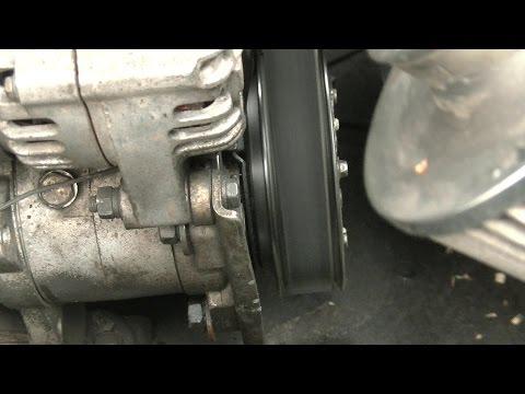 Замена подшипника шкива компрессора кондиционера