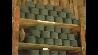 getlinkyoutube.com-The process of Making Bio-briquette