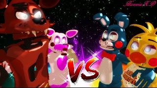 getlinkyoutube.com-FOXY Y MANGLE VS TOY BONNIE E CHICA