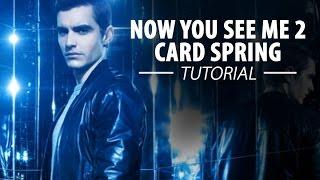getlinkyoutube.com-Now You See Me 2 – Card Spring TUTORIAL