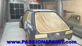 getlinkyoutube.com-PART 1 Ford Escort RS Turbo Repaint Primer Application Including, Quartz VOC High Build Primer