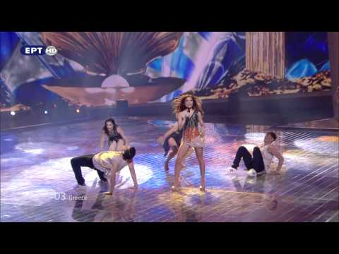 Eleftheria Eleftheriou - Aphrodisiac (Greece) - Live - 2012 Eurovision Song Contest 1st Semi Final