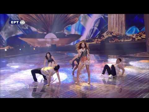Eleftheria Eleftheriou - Aphrodisiac (Greece) - Live - 2012 Eurovision Song Contest 1st Semi Final