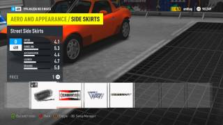 getlinkyoutube.com-Forza Horizon 2 Mods - Removal bumpers, hood, wing, skirts