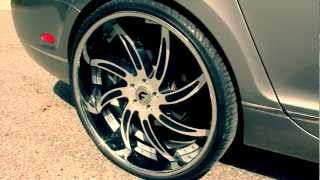 getlinkyoutube.com-StuntWorld Bentley Gets New Shoes (Watch in 1080p HD)
