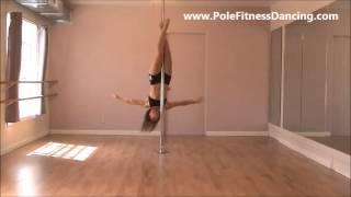 getlinkyoutube.com-Pole Dancing Moves - How To Learn Pole Tricks