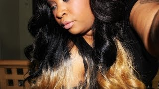 getlinkyoutube.com-Freetress Equal Invisible L Part Wig - Honor (NyHairmall.com)