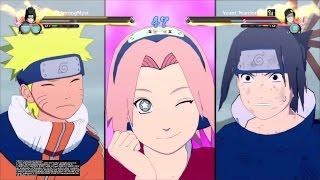 getlinkyoutube.com-Team 7 VS Zabuza and Haku |Legend battle # 9| Naruto ultimate ninja storm 4