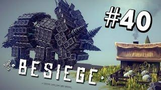 getlinkyoutube.com-AWESOME CREATIONS! | Besiege #40 | YOUR MACHINES!